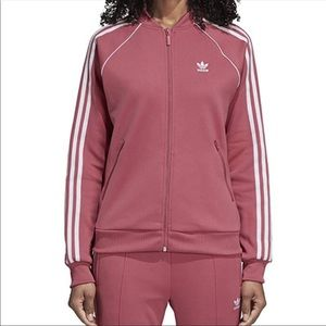 Adidas Super Star Track Jacket - Trace Maroon